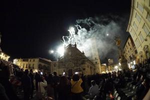 Corteggio Storico: i tradizionali fuochi d'artificio