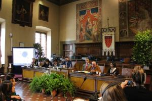 Inizio delle celebrazioni sull'anniversario dei 30 anni del gemellaggio tra Prato e Ebensee