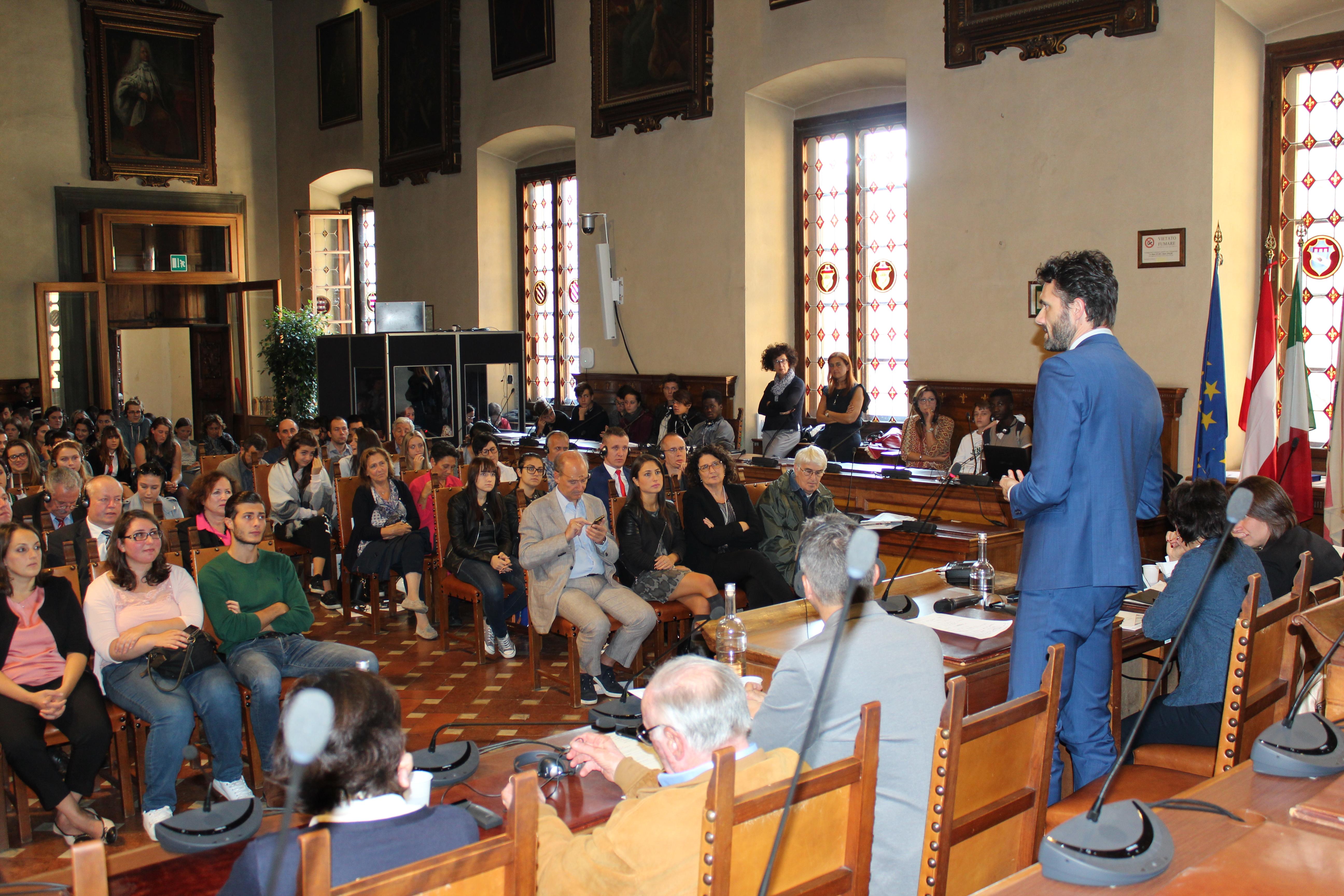<p>L'intervento del Sindaco di Prato, Matteo Biffoni, sull'importanza e il valore di questo gemellaggio</p>