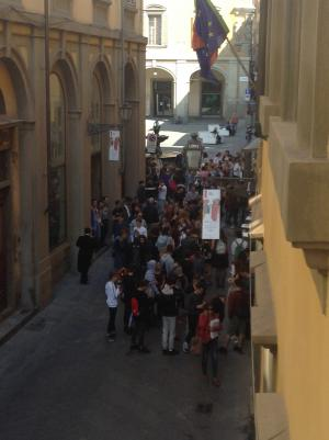 I ragazzi di Prato e Ebensee partecipano alla camminata